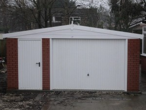 Combined Concrete Garage and Workshop