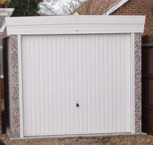 Single Pent Sectional Garage