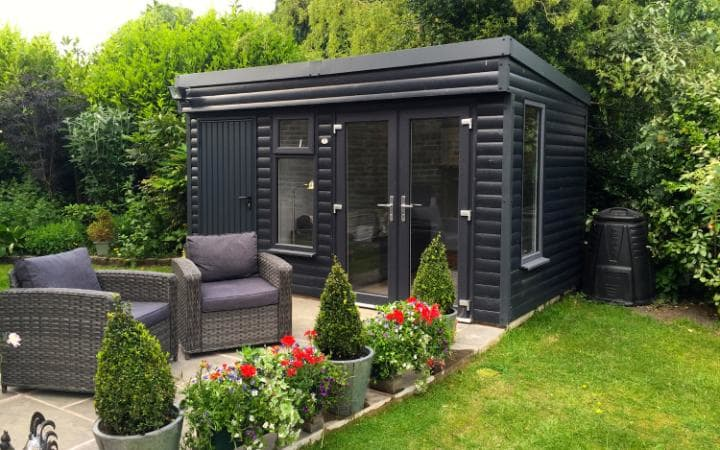 The pembroke garden room home office summer house for The garden room company