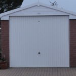 Brick Concrete Sectional Garage - Poole