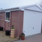 Dorset - Brick effect Concrete Garage