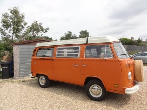 VW Camper Van too large for existing garage