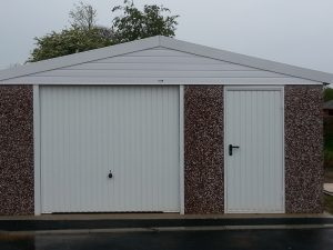 Concrete Sectional Garage in Chichester for useful storage